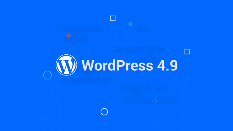 WordPress 4.9 Update: Neue Funktionen