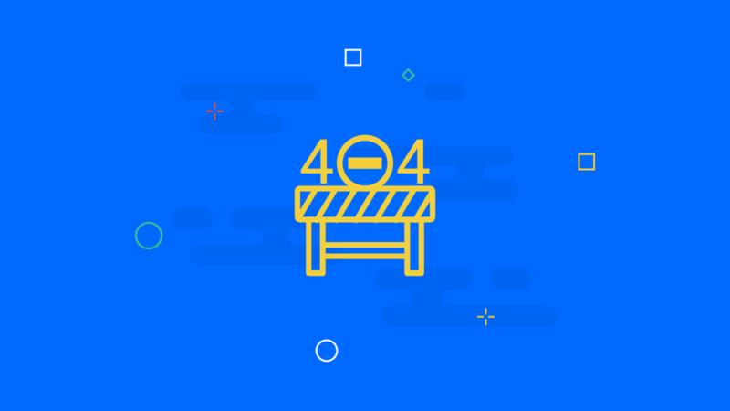 WordPress 404-Fehlerseiten