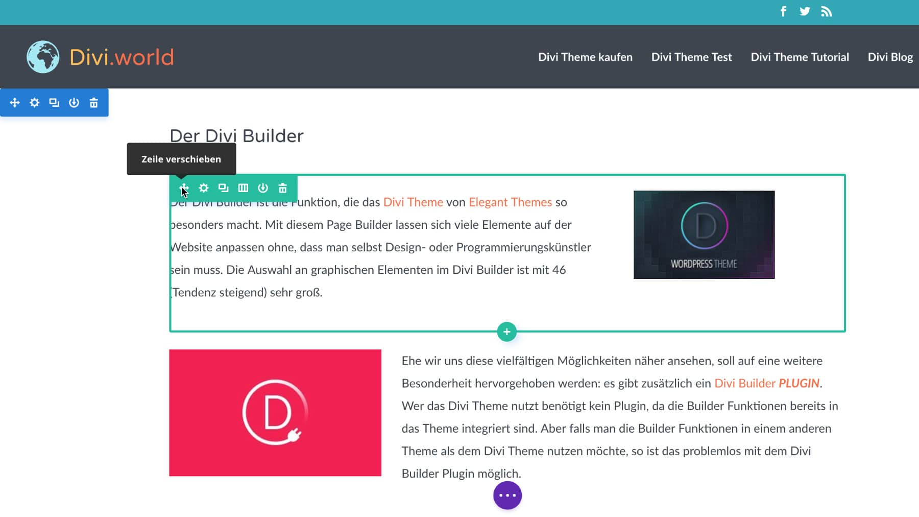 Divi Visual Builder 1