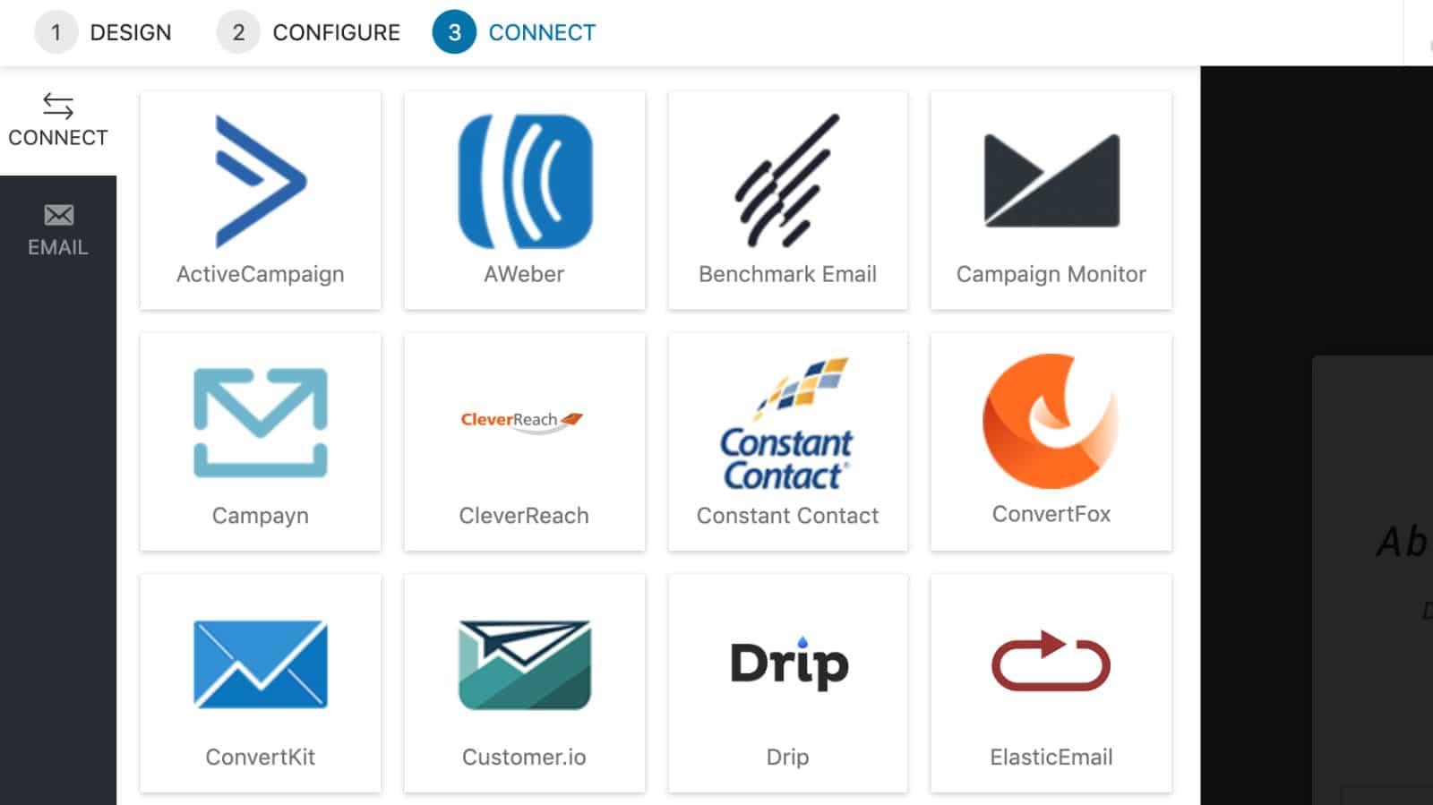 Convert Pro Test Integrationen Newsletterdienste
