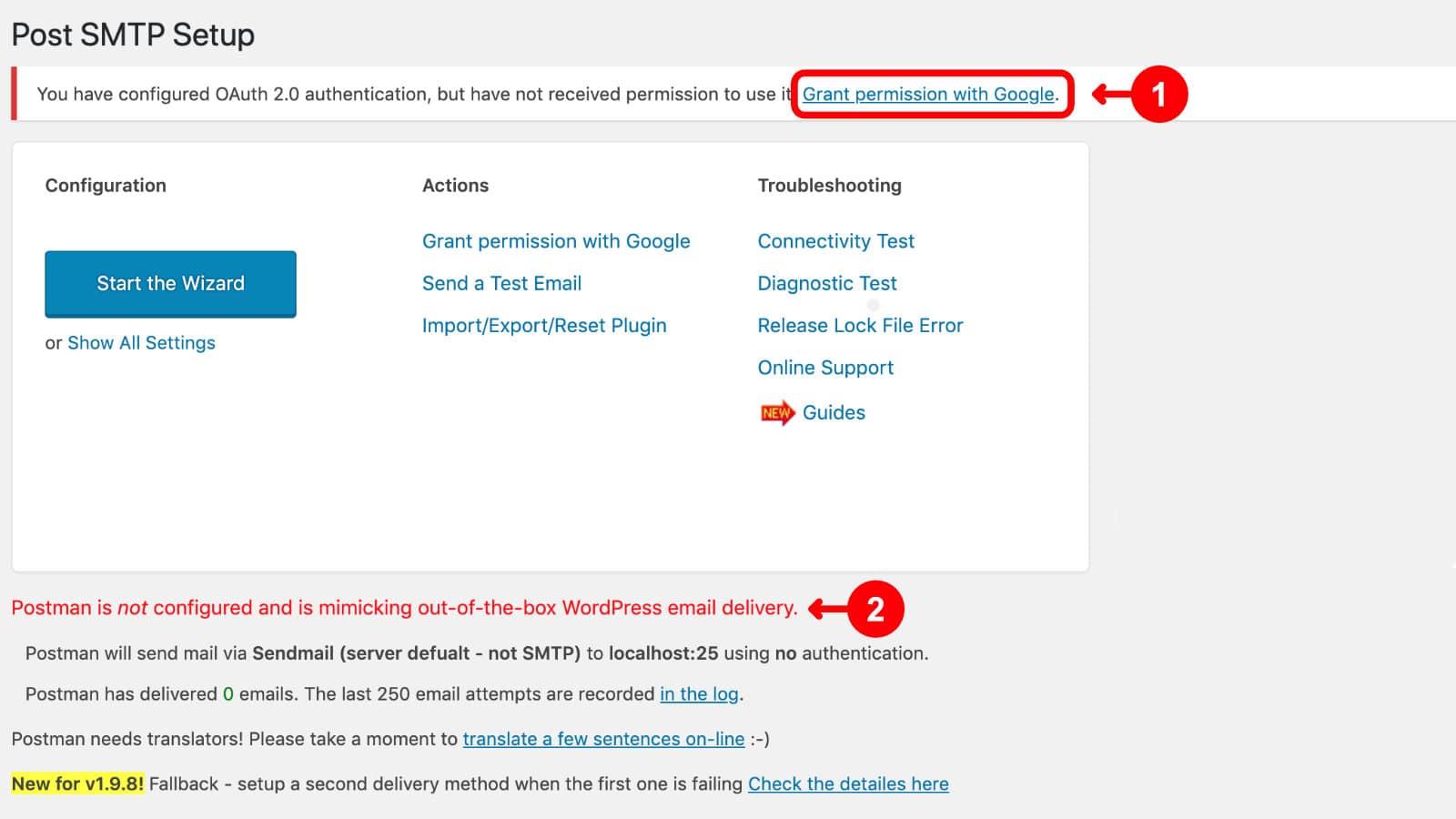 WordPress E-Mail einrichten & Probleme lösen 16