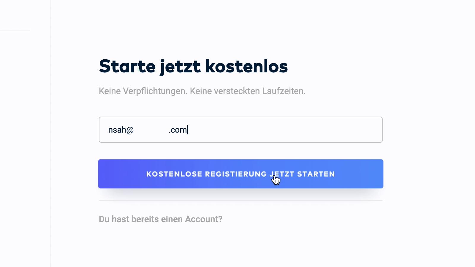 WordPress Website erstellen: Raidboxes Anmeldung 2